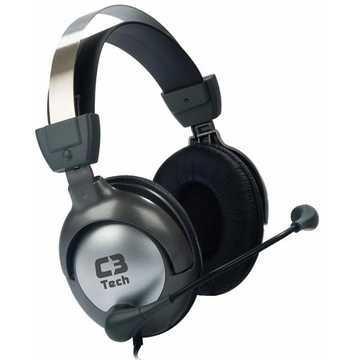 Fone de Ouvido com Microfone Gamer Raptor MI-2870RS - C3tech