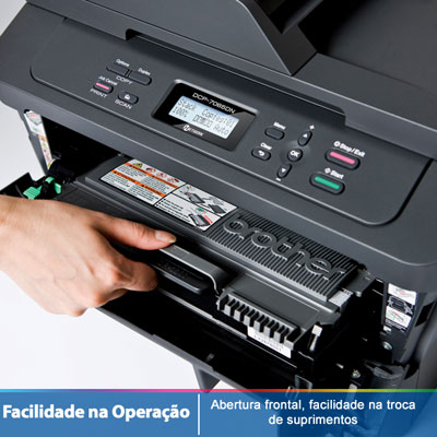 Multifuncional Monocromatica DCP7065DN 110V - Brother