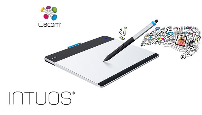 Mesa Digitalizadora Intuos Pen e Touch Medio - CTH680L - Wacom