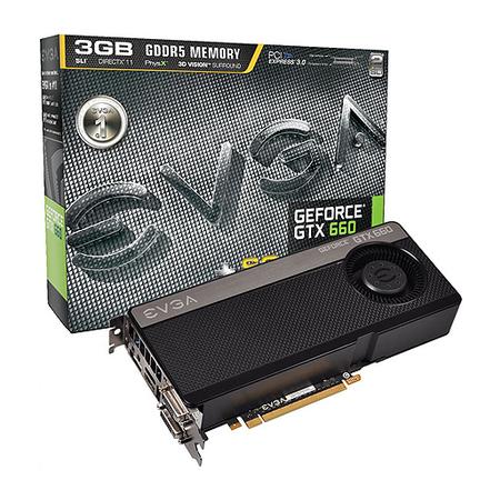 Placa de Video GeForce GTX660 3GB GDDR5 192Bits Superclocked 03G-P4-2666-KR - EVGA