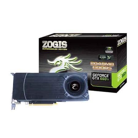 Placa de Video GeForce GTX660TI 2GB DDR5 192Bits ZOGTX660TI-2GD5H - Zogis