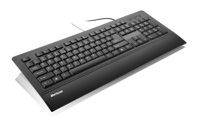 Teclado Slim Multimidia USB TC128 - Multilaser