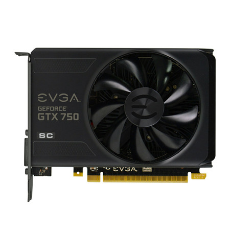 Placa de Video GeForce GTX750 1GB DDR5 128Bits Superclocked 01G-P4-2753-KR - EVGA