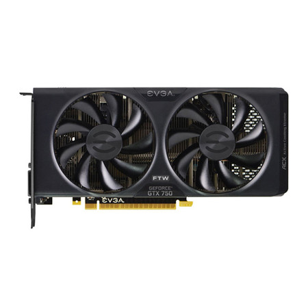 Placa de Video GeForce GTX750 2GB DDR5 128Bits FTW ACX 02G-P4-2758-KR - EVGA