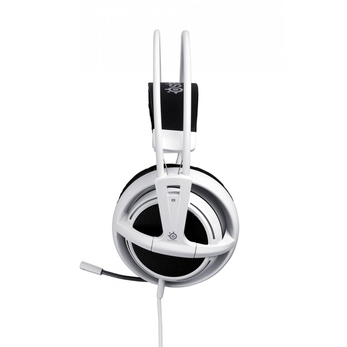 Fone de Ouvido Siberia V2 White com Microfone 51100 - Steelseries