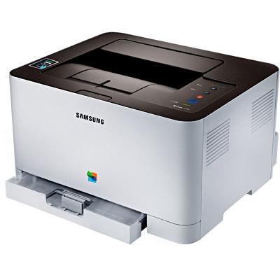 Impressora Laser Color SL-C410W 110V - Samsung