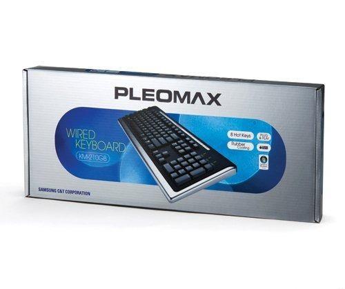 Teclado Multimidia USB ABNT II Pleomax KM-210GB - Samsung