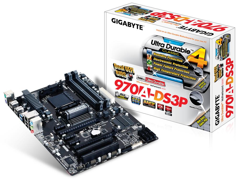 Placa Mãe AM3+ GA-970A-DS3P (S/R) - Gigabyte