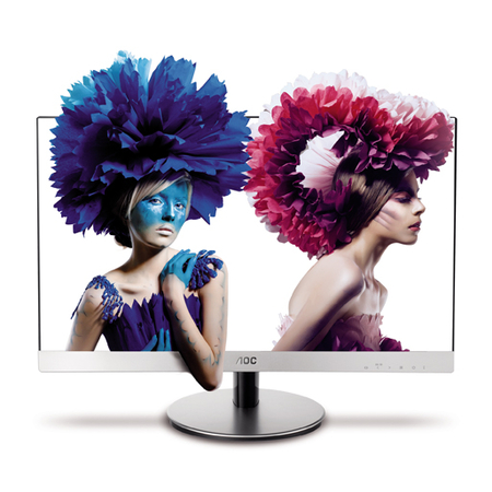 Monitor LED 23´´ 3D IPS Wide D2369VH/BS - AOC