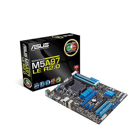 Placa M�e AM3 M5A97 LE R2.0 DDR3 (S/R) - ASUS