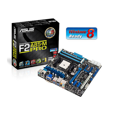 Placa M�e AMD Micro ATX F2A85-M PRO FM2 A85X SATA 6Gb/s USB 3.0 - ASUS