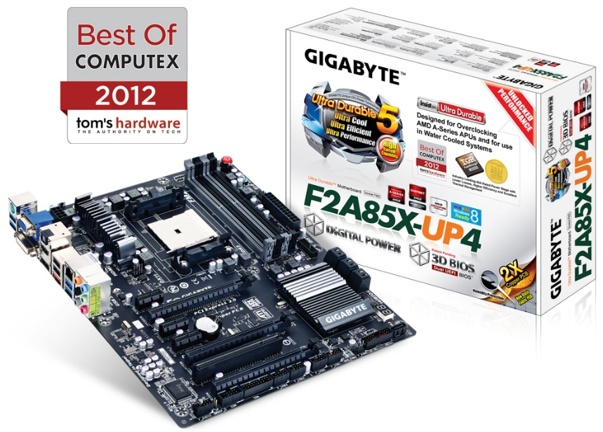 Placa Mãe AMD Socket FM2 GA-F2A85X-UP4 (S/V/R) - Gigabyte