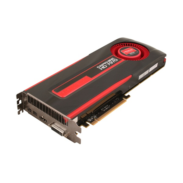 Placa de Vídeo ATI HD7970 3GB DDR5 384Bits 21197-00-40G - Shappire -