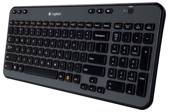 Teclado Wireless K360 - Logitech