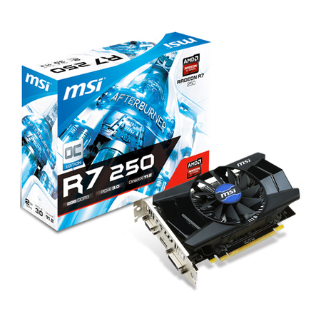 Placa de Vídeo ATI R7 250 OC Edition 2GB DDR3 128Bits 912-V301-001 - MSI