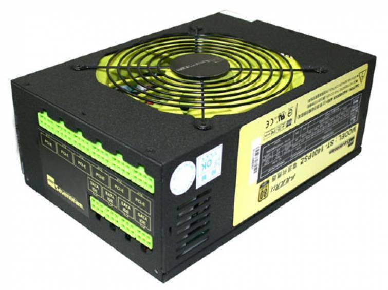 Fonte ATX 1250W PFC Gold ST-1250PSZ Preto - Seventeam