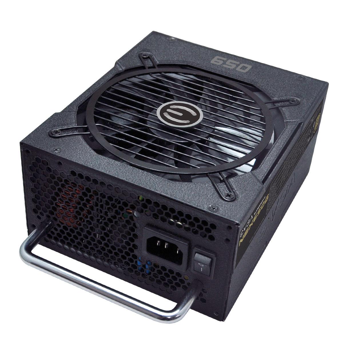 Fonte ATX 650W 80 Plus Gold 120-PG-0650-GR - EVGA