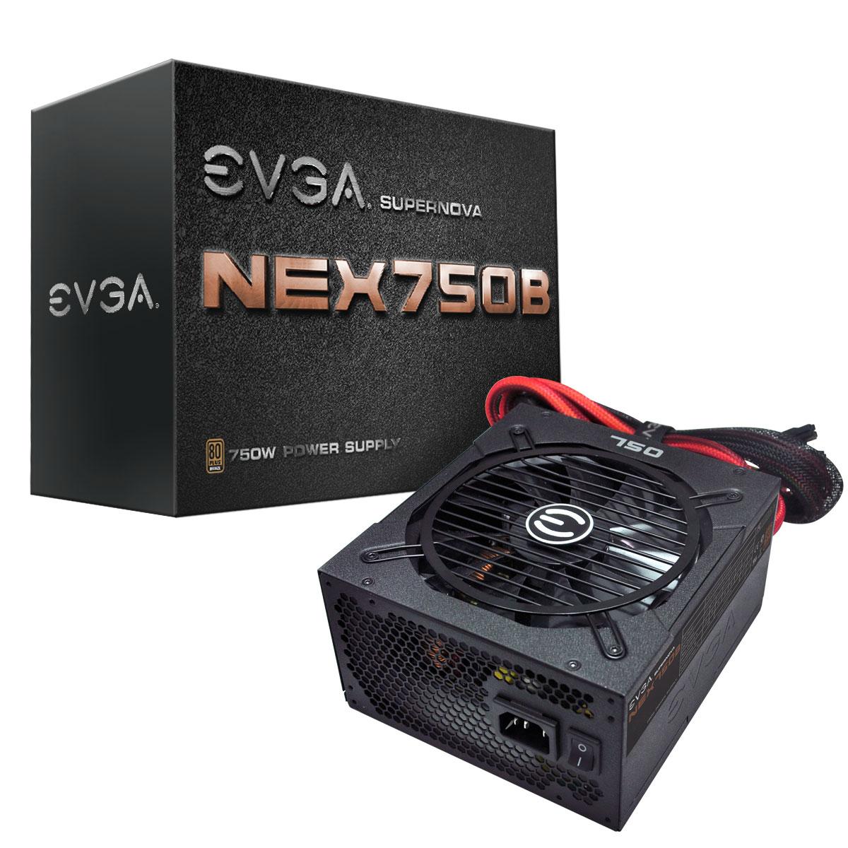 Fonte ATX 750W 80 Plus Bronze 120-PB-0750-KR - EVGA