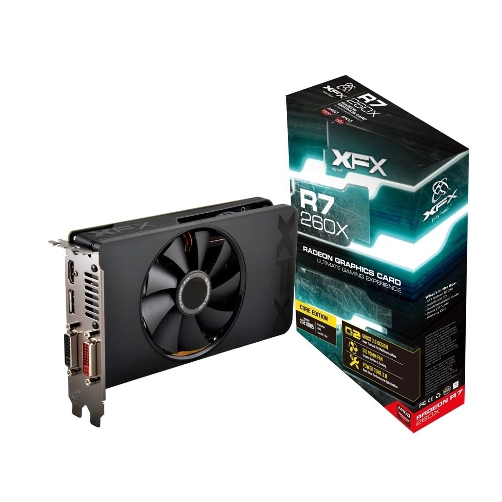 Placa de Video ATI R7 260X 2GB DDR5 128Bits Core Edition R7-260X-CNF4 - XFX