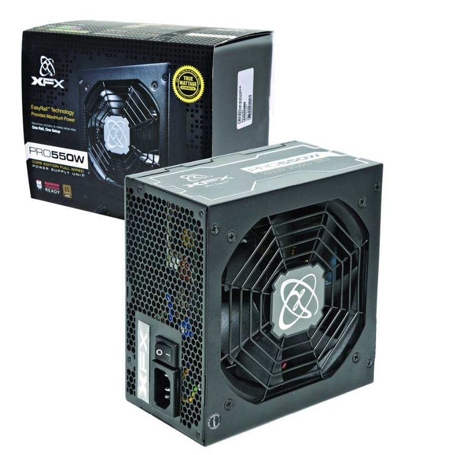 Fonte ATX 550W Core Edition 80 Plus Bronze P1-550S-XXB9 - XFX