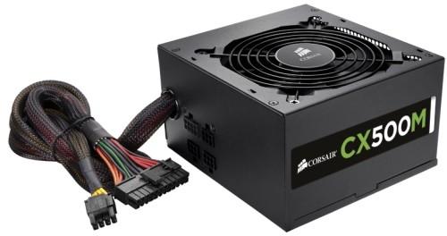 Fonte ATX 500W CX500M Modular CP-9020059-WW (PFC Ativo) - Corsair -