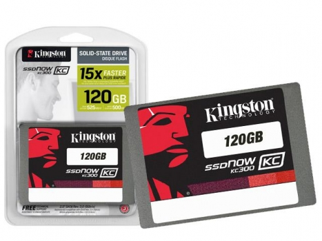 SSD Corporativo SKC300S37A/120G KC300 120GB 2,5 Sata III Blister - Kingston