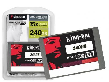 SSD Corporativo SKC300S37A/240G KC300 240GB 2,5 Sata III Blister - Kingston