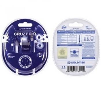 Fone de Ouvido Super Fan Cruzeiro - SF-10/CRU - Waldman