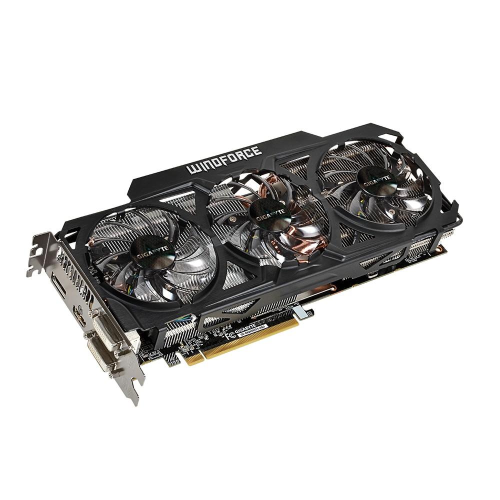 Placa de Video ATI R9 290X 4GB DDR5 512Bits Windforce 3x GV-R929XWF3-4GD - Gigabyte