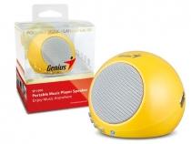 Saldão!!! Caixa de Som SP-I300 para Ipad/Iphone 2W RMS com tocador MP3 e Bateria Recarregável - Genius