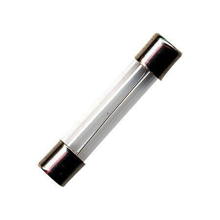 Fusivel Tubo de Vidro / Capacete Latao 2A 20AGLF - FTG