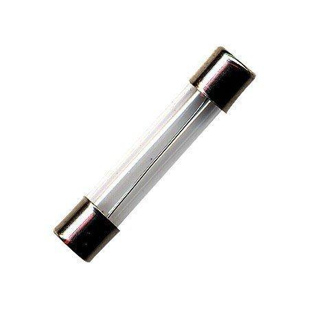 Fusivel Tubo de Vidro / Capacete Latao 6A 20AGLF Pequeno ( Unidade) - FTG