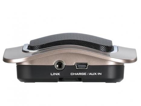 Saldão!!! Caixa de Som SP-I400 para Ipad/Iphone 2W RMS com SD Card e Bateria Recarregável Metálico - Genius