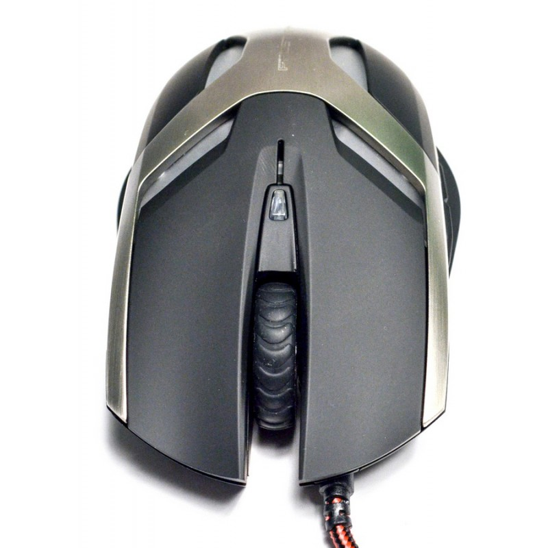 Mouse Gamer Optico Frost Wyam 2000DPI USB Preto XMS003BK - TEAM SCORPION