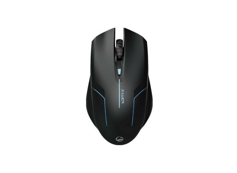 Mouse Gamer Optico X-Luca II 2000DPI USB Preto XMS001-R - TEAM SCORPION
