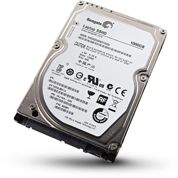 SSHD 1 Terabyte para Notebook Hibrido Sata III 2.5 ST1000LM014 (Alto desempenho) - Seagate
