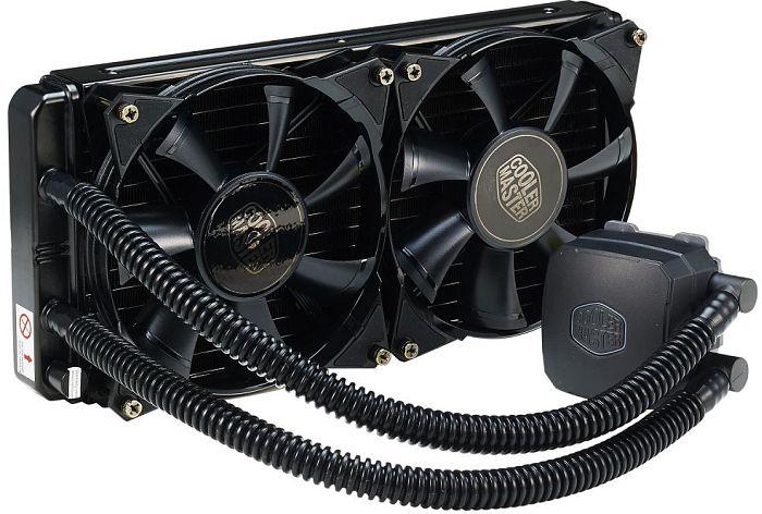 Cooler para CPU Refrigerado a Agua NEPTON 280L - RL-N28L-20PK-R1 - Coolermaster