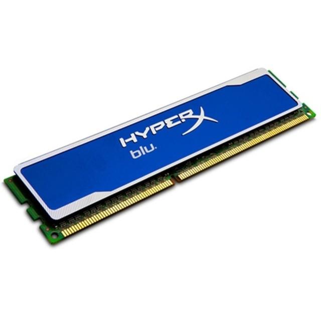 Memoria Hyper X Blu 4GB 1600MHz DDR3 KHX1600C9D3B1/4G Azul - Kingston