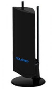Antena Interna DTV-4500 VHF / UHF / HDTV / FM - Aquario