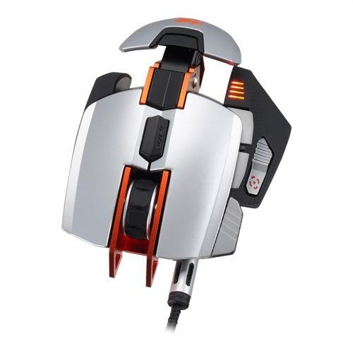 Mouse Gaming Laser 8200dpi com Peso Ajustavel 700M Laranja - Cougar