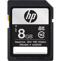 Cartao de Memoria 8GB SDHC Classe 10 CG788A-EF - HP