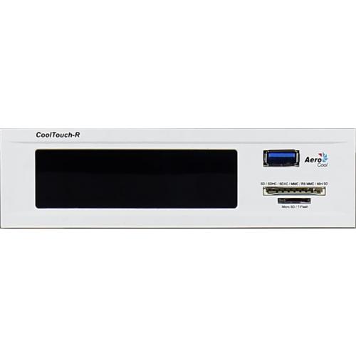Controlador de Fan Display Cool Touch-R White EN51851 - Aerocool