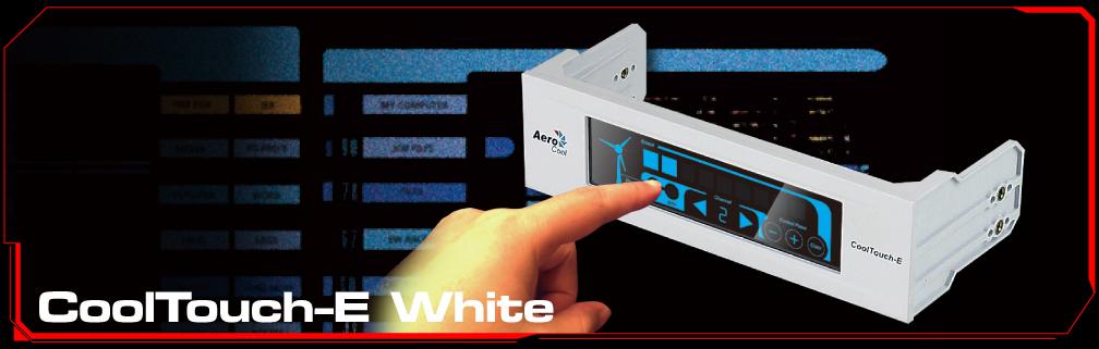 Controlador de Fan Display Cool Touch-E White EN51844 - Aerocool