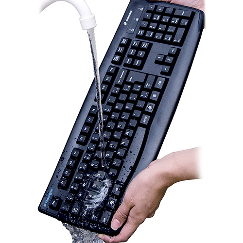 Teclado Kensington Lavavel Pro Fit USB/PS2 246603 - Kensington