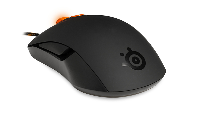 Mouse Gamer Kana Black & Orange 3200DPI - Steelseries