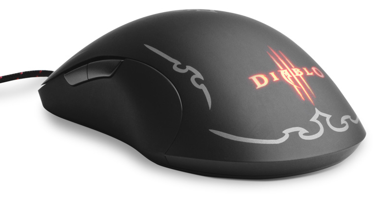 Mouse Gamer Laser DIABLO III 8 Botoes 5700dpi - 62151 - Steelseries