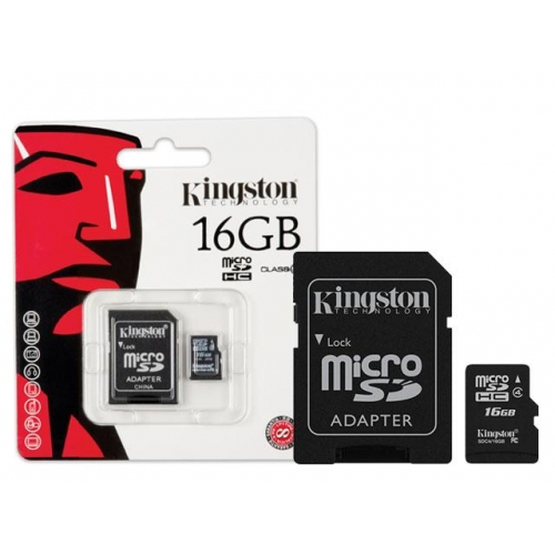 Cartao de Memoria 16GB Micro SDHC Classe 4 SDC4/16GB - Kingston