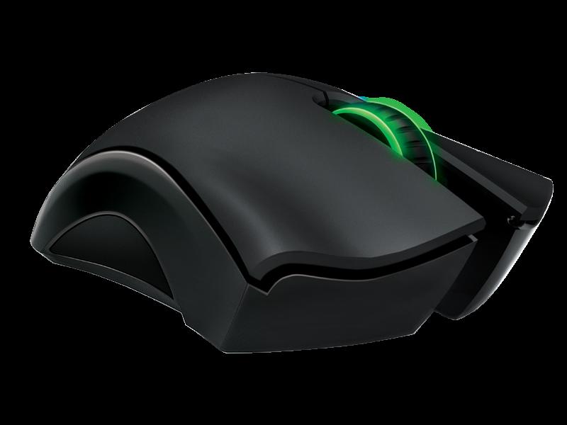 Mouse Gamer Laser Mamba 6400 DPI 4G Dual Sensor RZ01-00120400-R3U1 - Razer