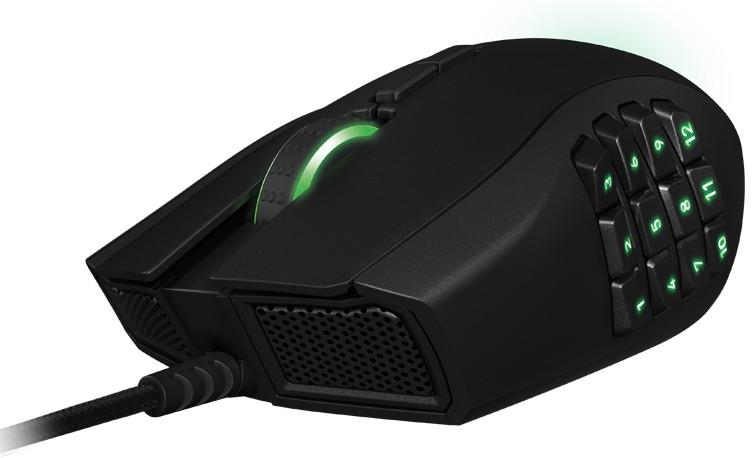 Mouse Laser Naga Expert 2014 RZ01-01040100-R3U1 - Razer