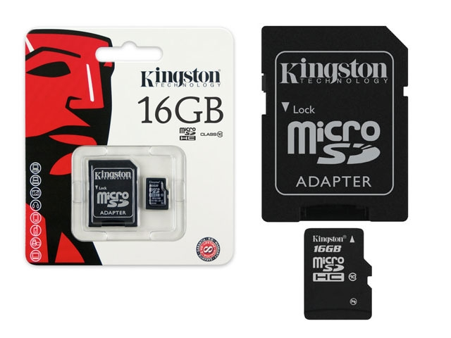 Cartao de Memoria 16GB Micro SDHC Classe 10 SDC10/16GB - Kingston